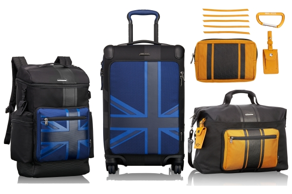 TUMI x MINI collab drives new luggage collection