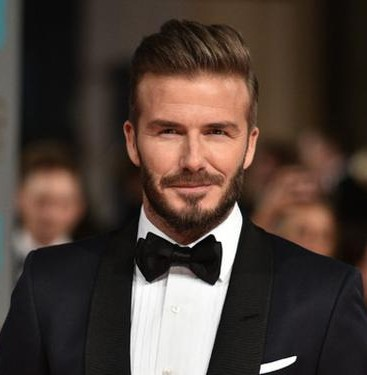 David Beckham signs for Kent & Curwen menswear
