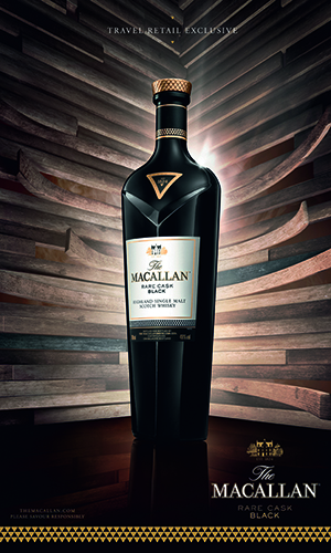 The Macallan Rare Cask Black launched as duty free exclusive