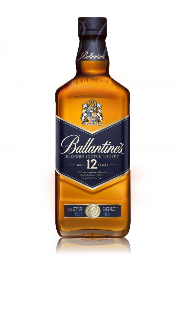 Ballantine's 12 unwraps elegant new look