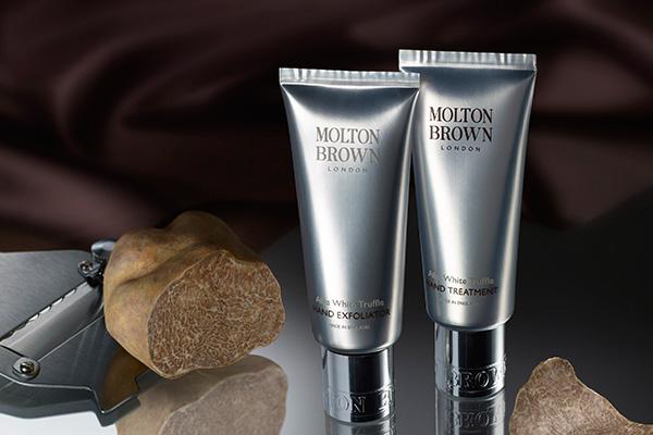Molton Brown launches Alba White Truffle Hand Regime