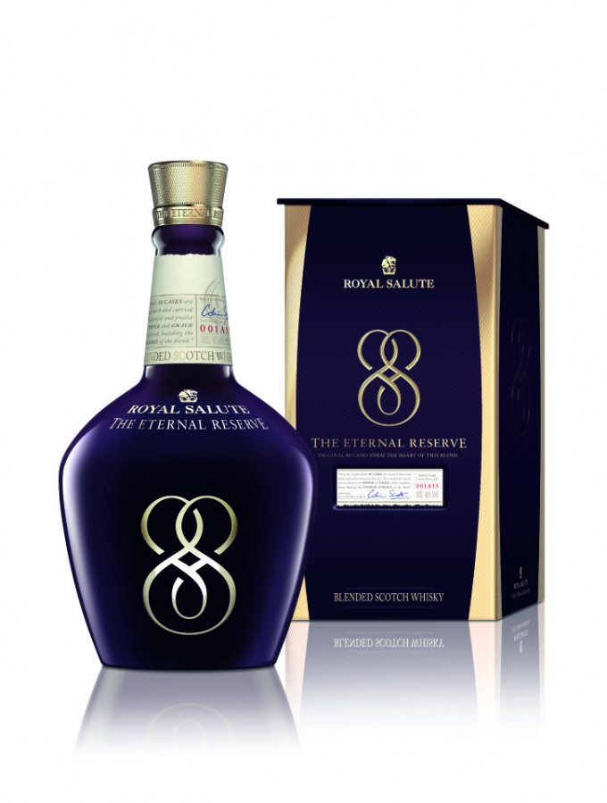Royal Salute unveils Eternal Reserve exclusive to duty free