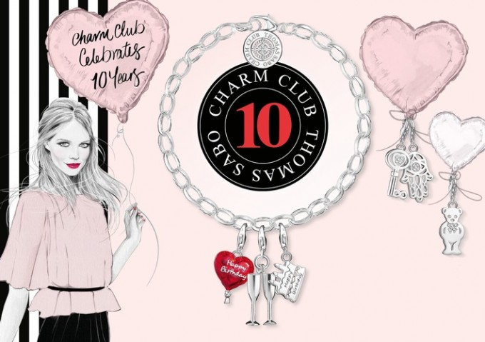 Thomas Sabo celebrates charm club decade with Diamond edition