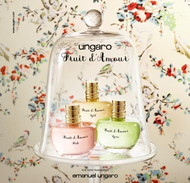 Ungaro picks the golden apple for new fragrances