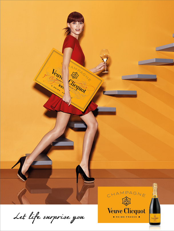 Veuve Clicquot gets fashionable new image