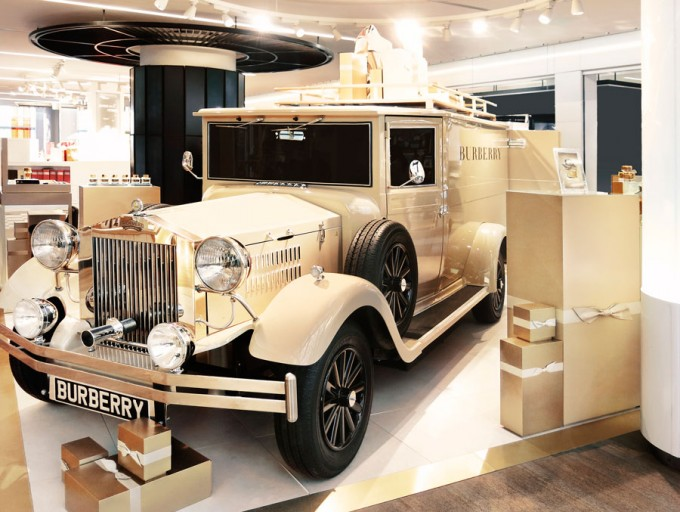 Burberry parks up at Paris CDG duty free