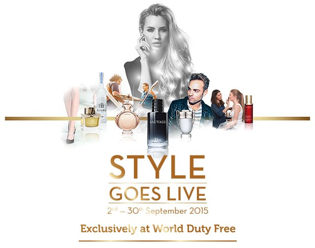 World Duty Free launches Style Goes Live promotion