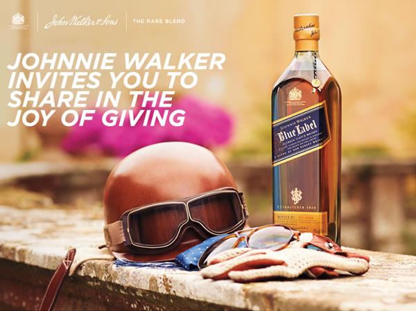 Johnnie Walker will bring joy to your journey