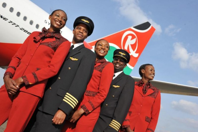 Kenya Airways – duty free shopping