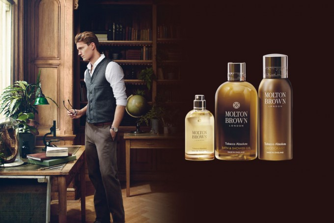 Molton Brown unveils Tobacco Absolute; new men's line for duty free