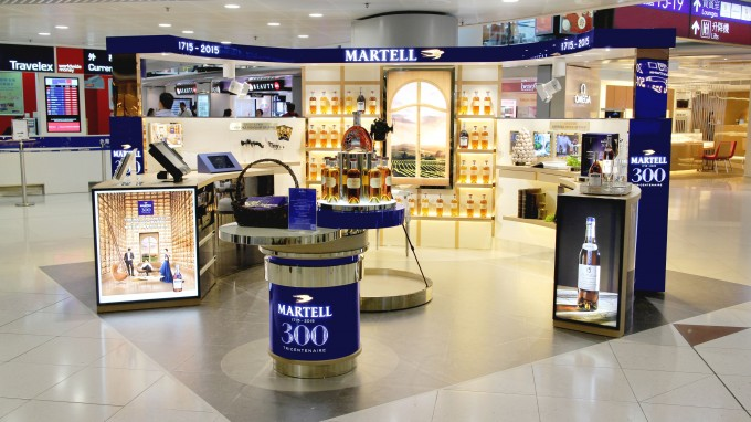 Martell celebrates 300 at HKIA; launches exclusive edition Cordon Bleu