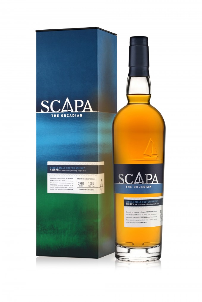 Scapa Skiren malt gets duty free roll out