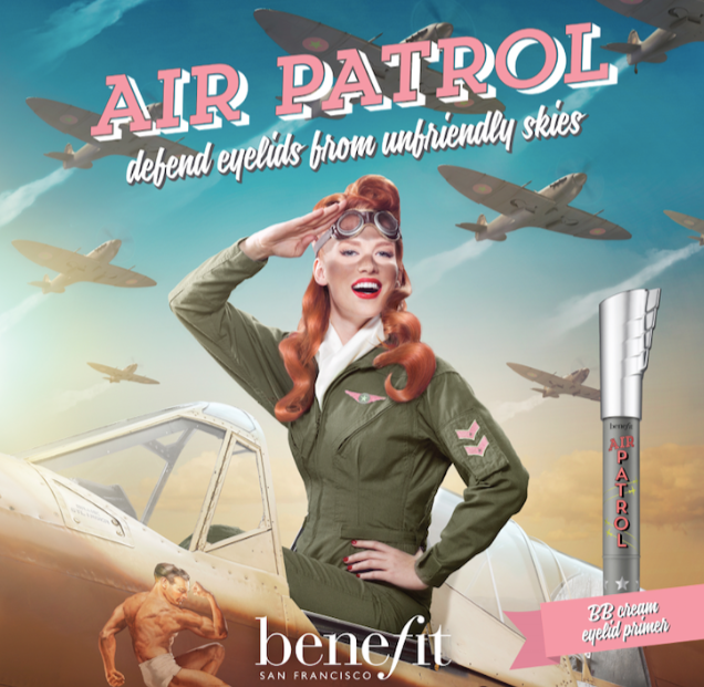 Benefit Air Patrol BB lands in duty free stores