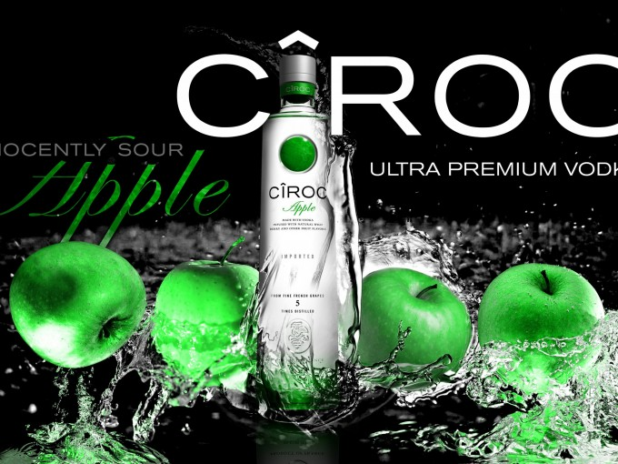 "Sean ""Diddy"" Combs introduces CÎROC Apple to the world"