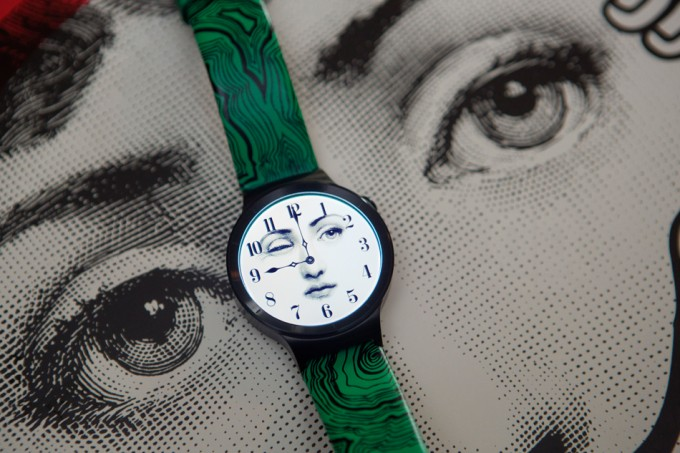Eyes wide open: Fornasetti creates special edition watch for Huawei