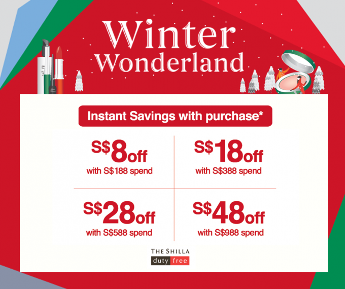 SAVE: Shilla Singapore's Winter Wonderland for travellers