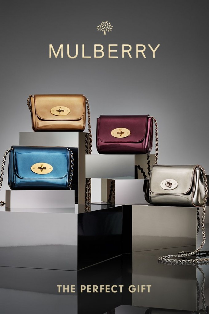 Mulberry shines with new metallic collection