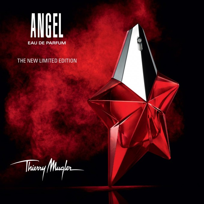 Thierry Mugler dresses Angel in Red