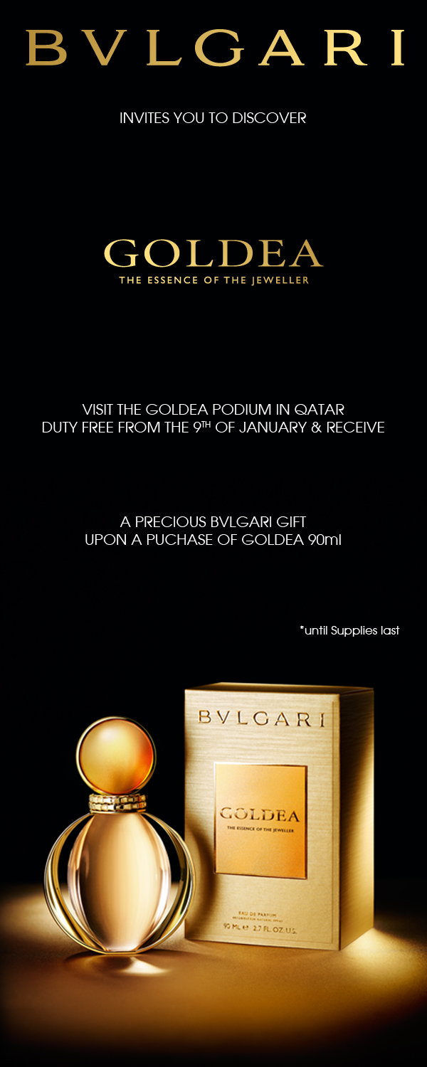 Qatar Duty Free to stage Bulgari Goldea launch