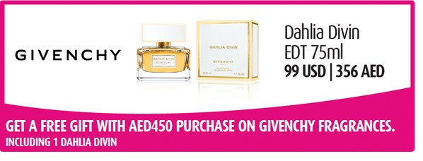 FREE GIFT: With Givenchy perfumes at Abu Dhabi Duty Free