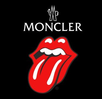 Moncler rocks with the Rolling Stones