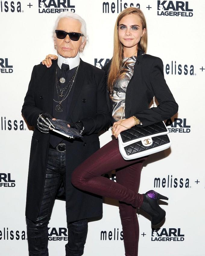 Karl and Cara eye new collaboration for Chanel