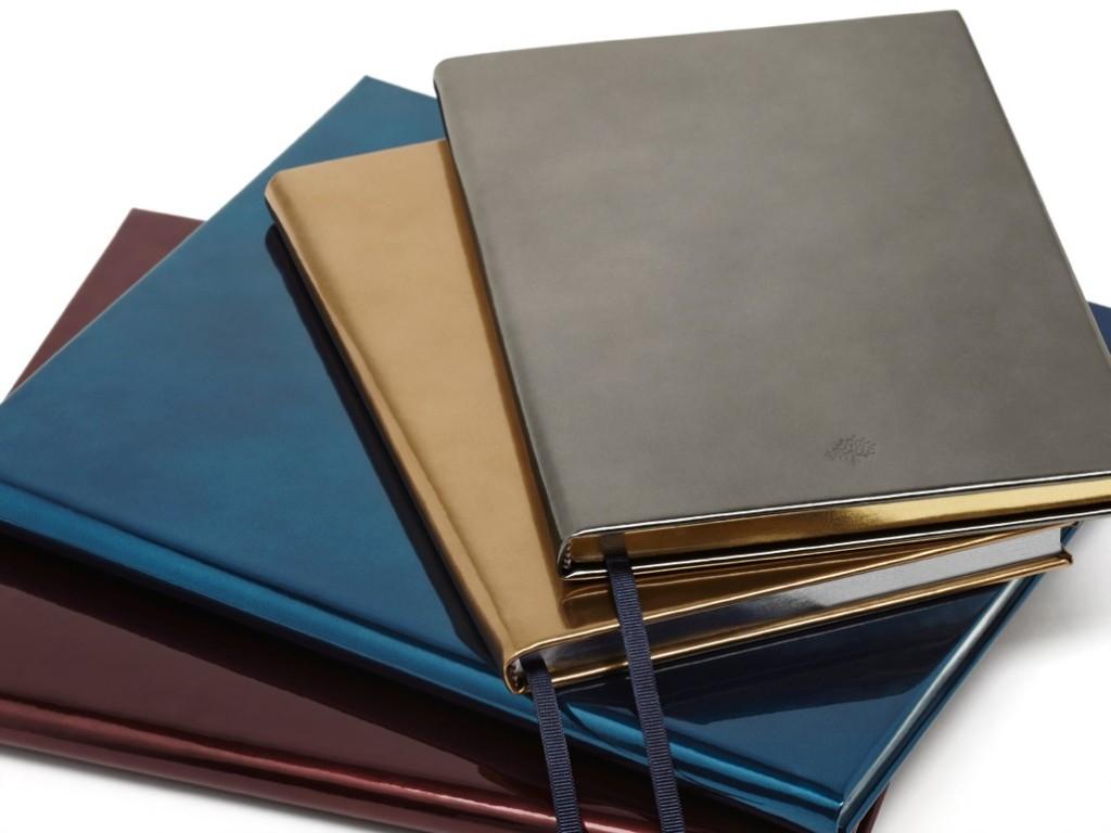 Metallics for the Festive Season Notebooks A5 £98 Quarto Notebooks £125