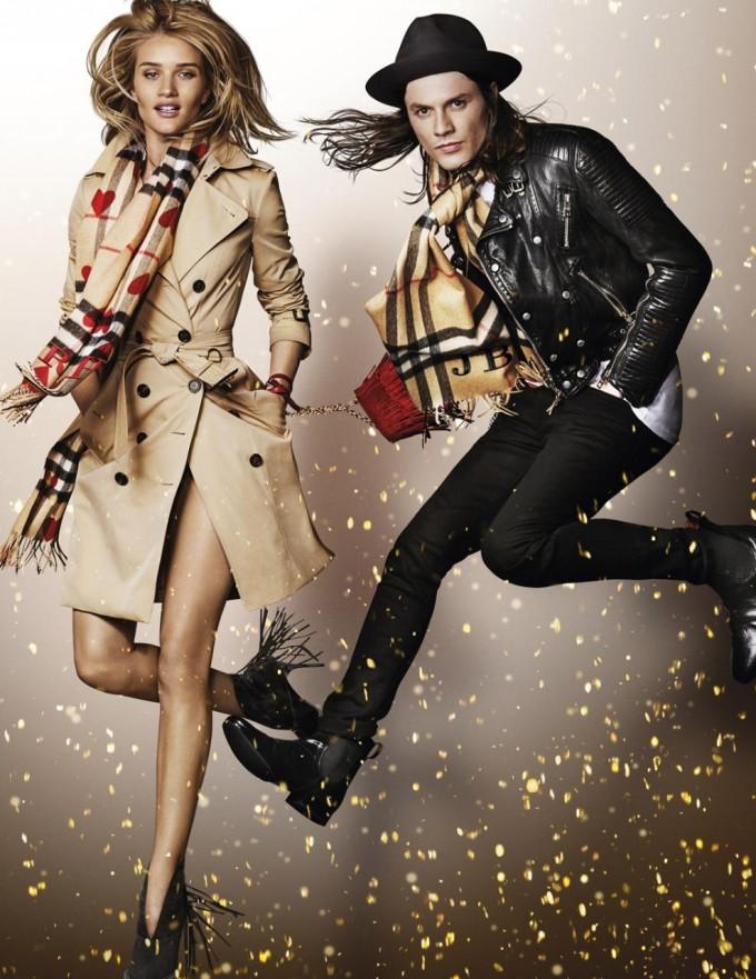 Burberry unveils star-studded festive campaign