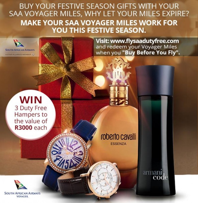 Shop with Miles on SAA this Christmas