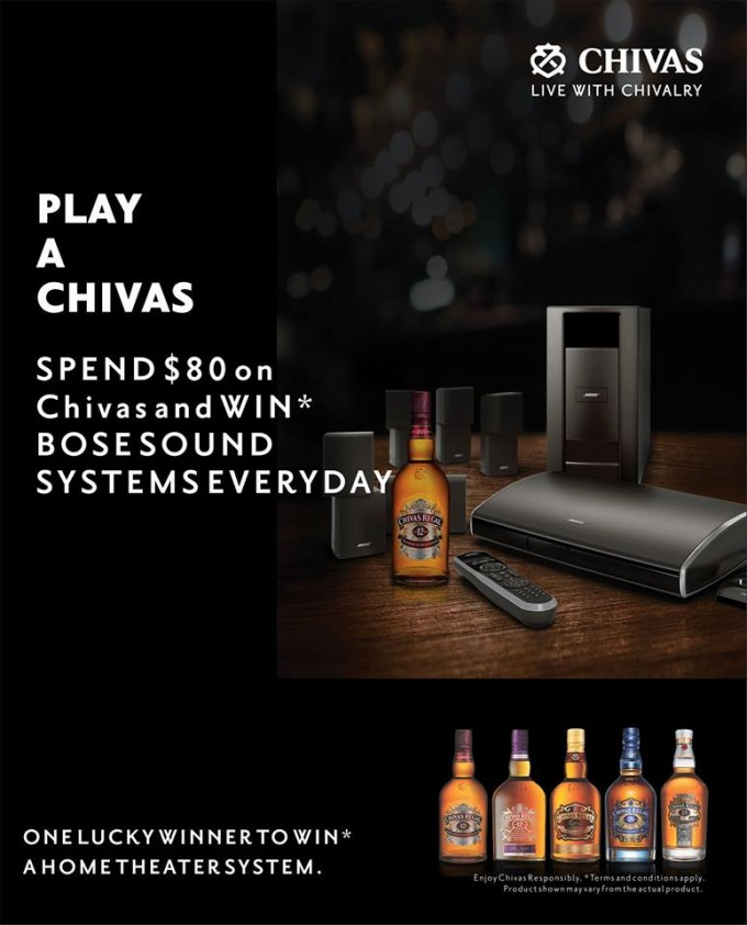 Delhi Duty Free: Play Chivas, Win a Bose home theatre system