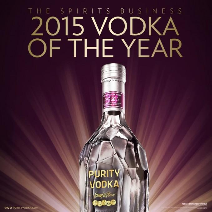 Purity Vodka tastes success again