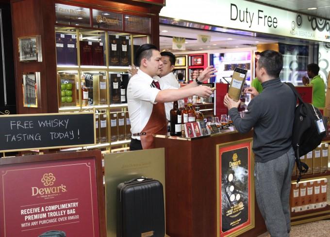 Dewar's Fine Whisky Emporium comes to KLIA