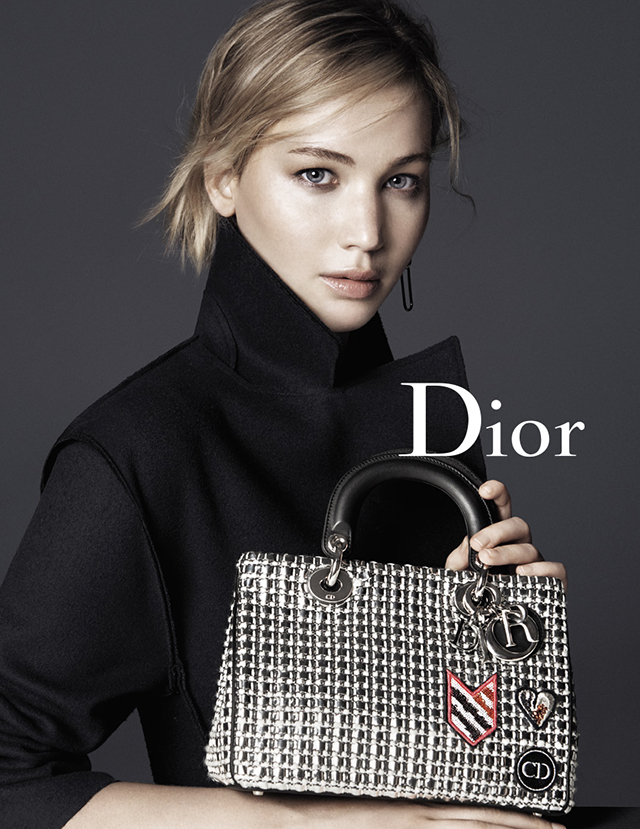 Jennifer Lawrence stars again for Dior