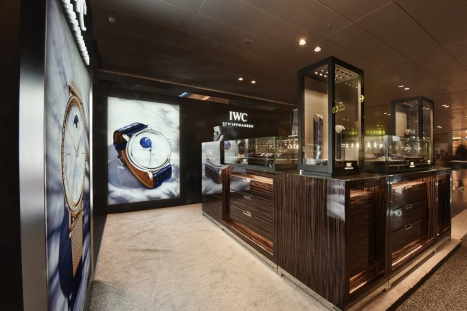 IWC pops up at Qatar Duty Free
