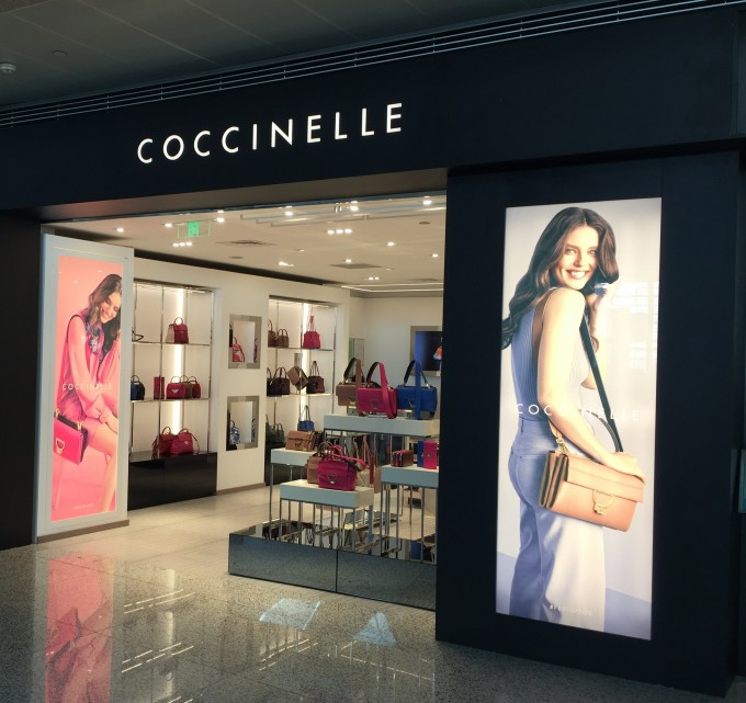 Coccinelle extends airport stores with openings in Asia, Europe and Russia