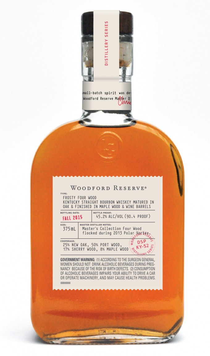 Woodford Reserve release rare Bourbon 'flocked' by Polar vortex