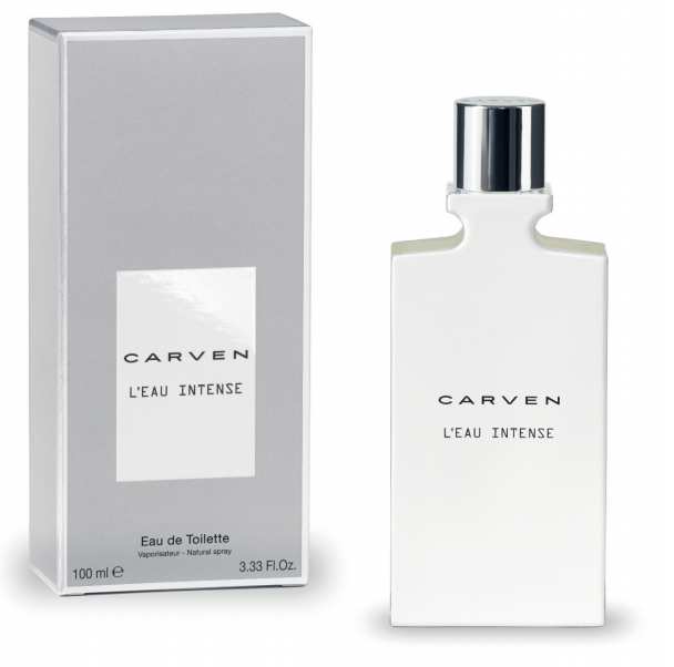 Carven launches new men's fragrance L'Eau Intense