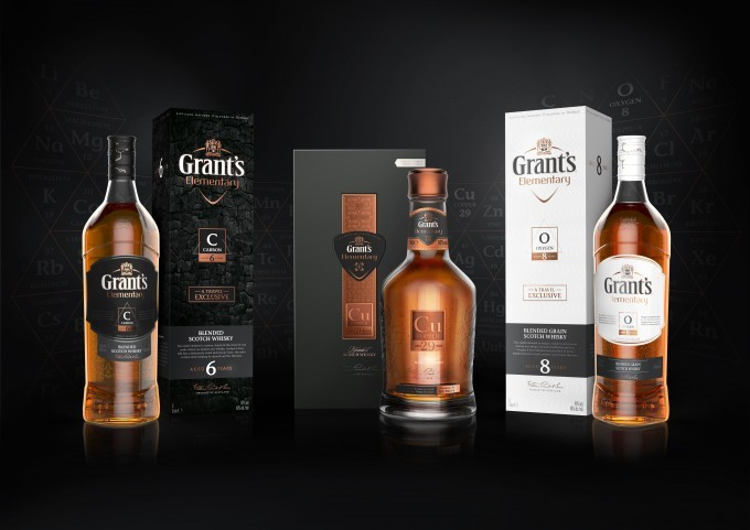 Grant's Elementary whiskies launches in French airports