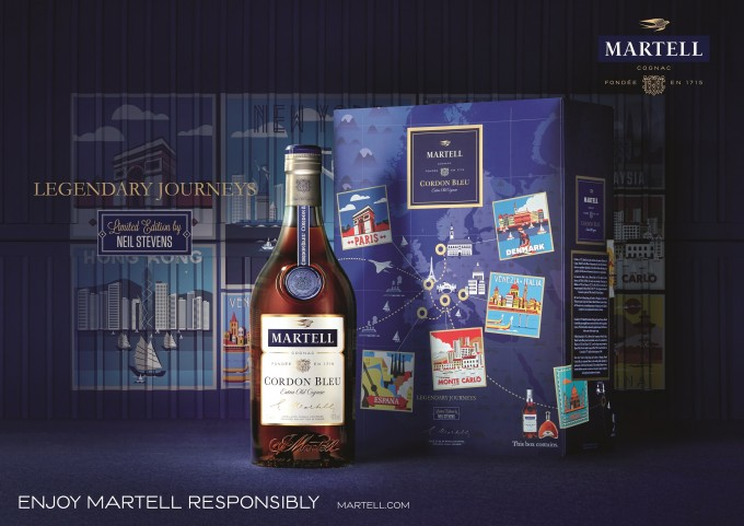 Martell debuts Legendary Journeys pack; Exclusive to Asia duty free stores