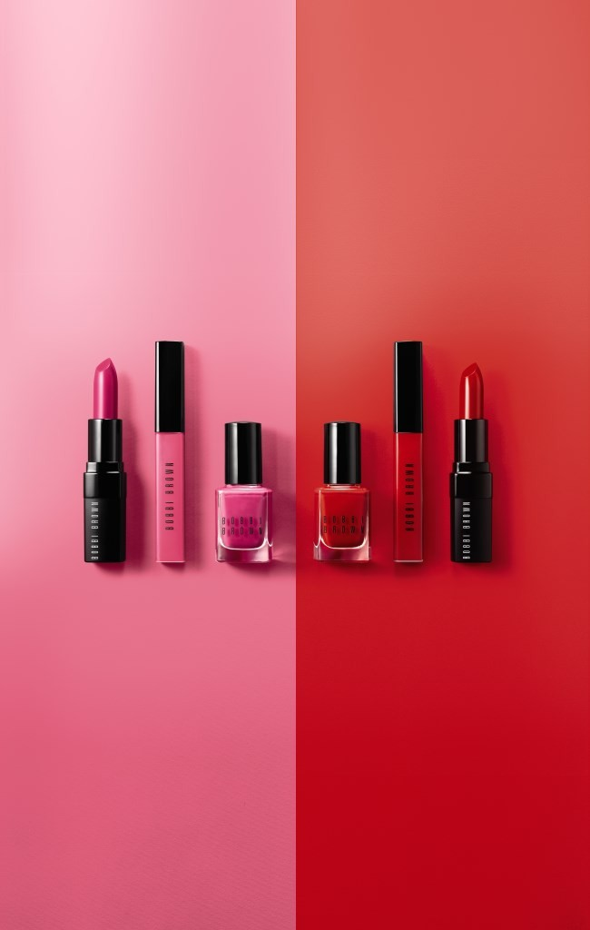 Bobbi Brown unveils Red & Pink Collection