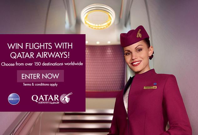 WIN: Qatar Airways flights with World Duty Free