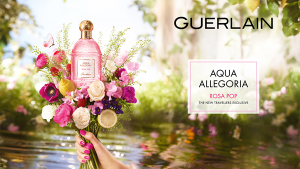 Guerlain launches travel retail exclusive Rosa Pop fragrance