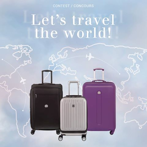 WIN: Delsey luggage competition for travellers