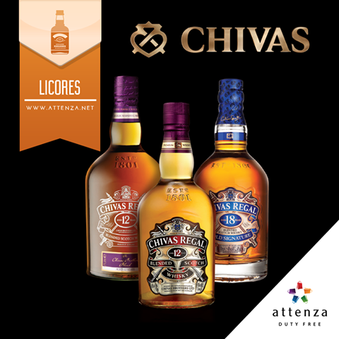 SAVE: Chivas Regal special offers at Attenza Duty Free