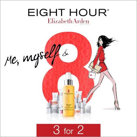 WOW: Elizabeth Arden Eight Hour 3 for 2 at The Loop Duty Free – Dublin & Cork Airports