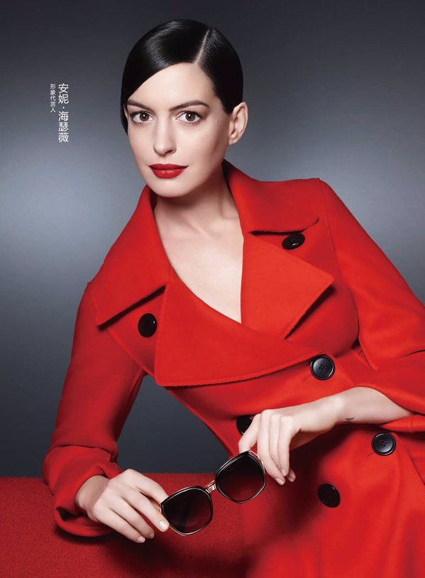 Anne Hathaway fronts new Bolon eyewear campaign in Asia