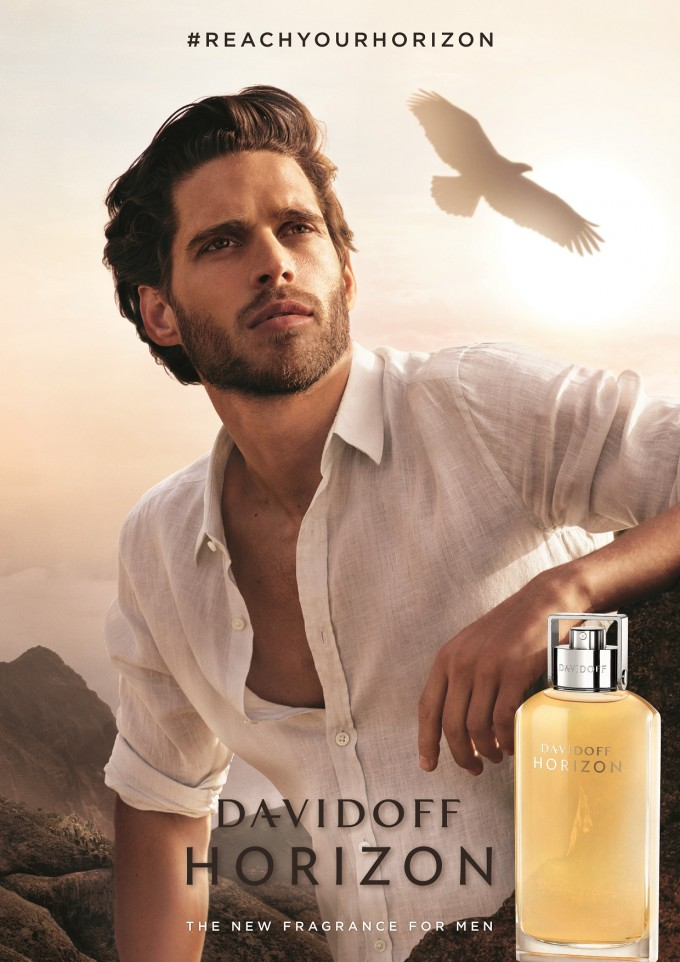 HORIZON The new fragrance for men from DAVIDOFF
