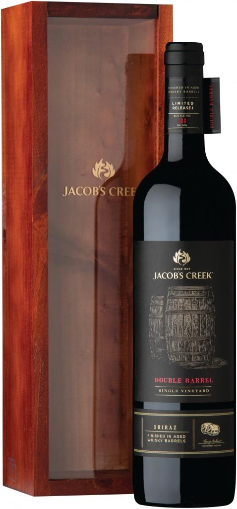 Jacob's Creek Double Barrel Shiraz_packshot and box
