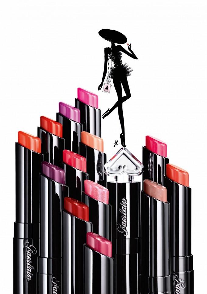 Now in Colour: Guerlain's La Petite Robe Noire launches make-up line