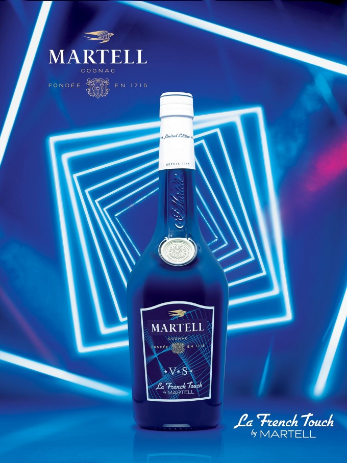 Martell unveils La French Touch limited edition cognacs